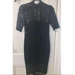 Express - Midi Vintage Style Dress
